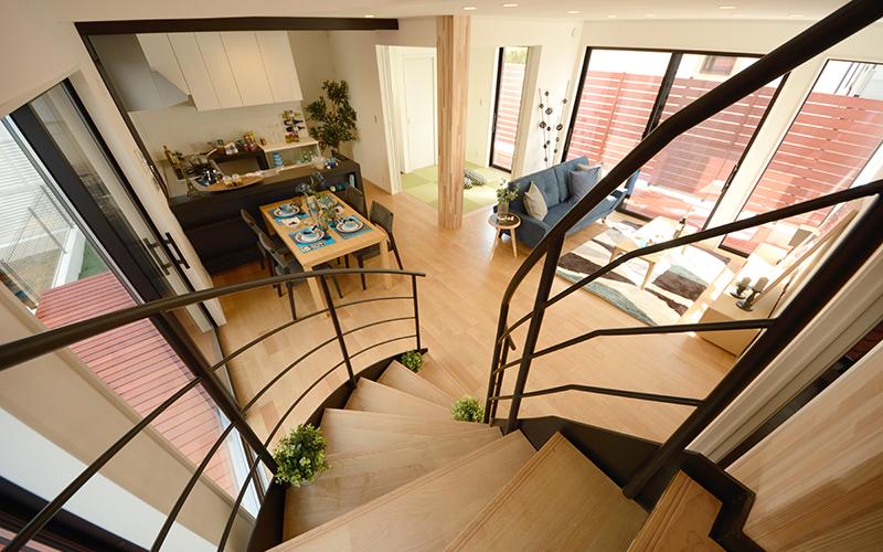 階段を住まいのオブジェにしてみませんか?